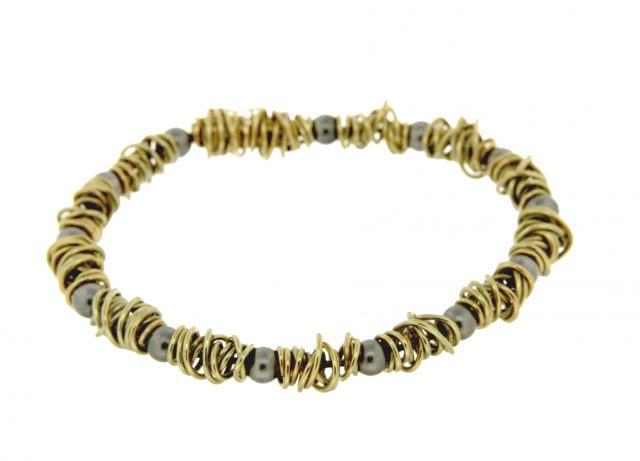 Endless Rope gouden armband