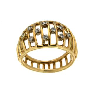 Gouden ring met Diamanten