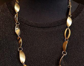 """Gouden collier """"Bowshine"""""""