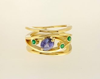 "Gouden ring ""Firulenta"""