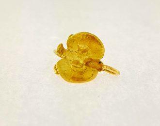 18 karaat gouden bloemhanger