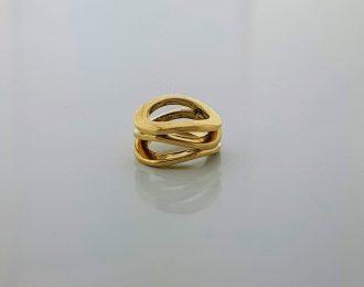 14 karaat gouden hanger Roll-over